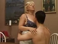 Older Italian teacher with student | Tube Cup video